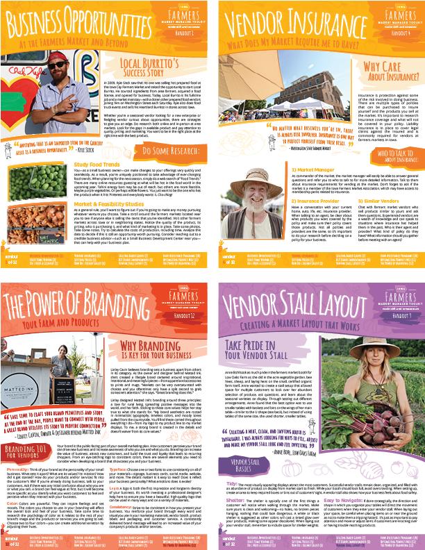 Farmers Market Vendor Handouts