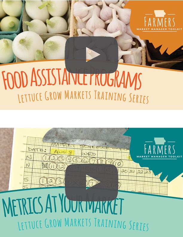 Farmers Market Video Series