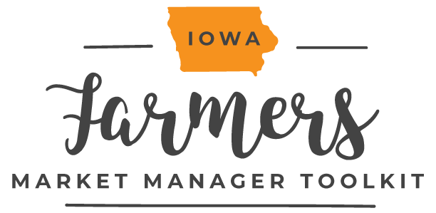 Iowa Farmers Market Manager Toolkit