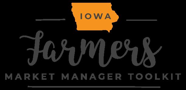 Iowa Farmers Market Manager Toolkit